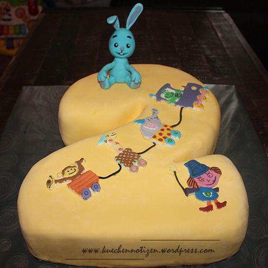 Kikaninchen Torte - Geburtstagstorte - Kikaninchen und Freunde