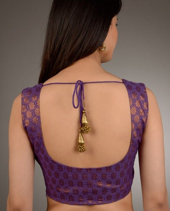 "5 ""Blouse"" Patterns to Make ""Saree"" Very Appealing"