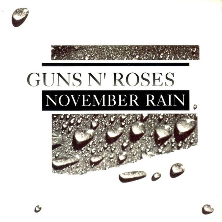 Guns N' Roses - November Rain (1992)