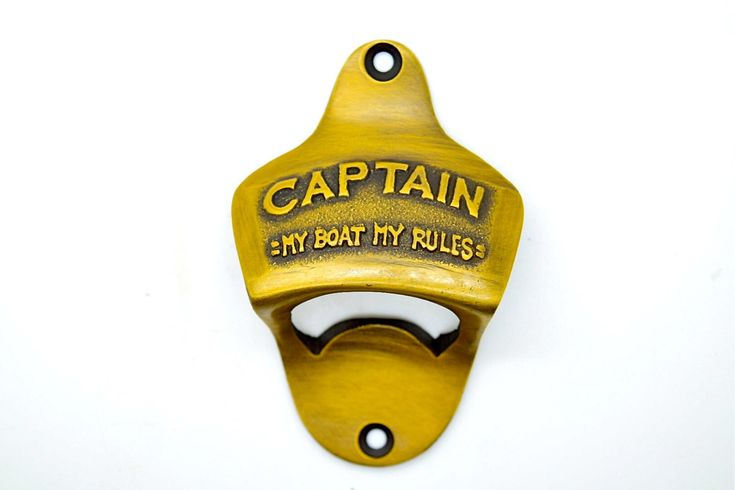 Captain beer bottle opener, husband gift ideas,captain hat ,boyfriend gift idea, sailing gifts, beer caddy, groomsman  gifts by Thefoundryman on Etsy https://www.etsy.com/listing/267889048/captain-beer-bottle-opener-husband-gift