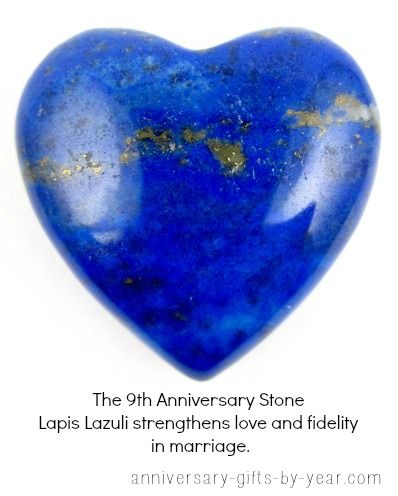 9th anniversary gift ideas  Lapiz Lazuli is the 9th anniversary stone on the traditional gemstone list.  We have lots of gorgeous Lapis Lazuli pieces