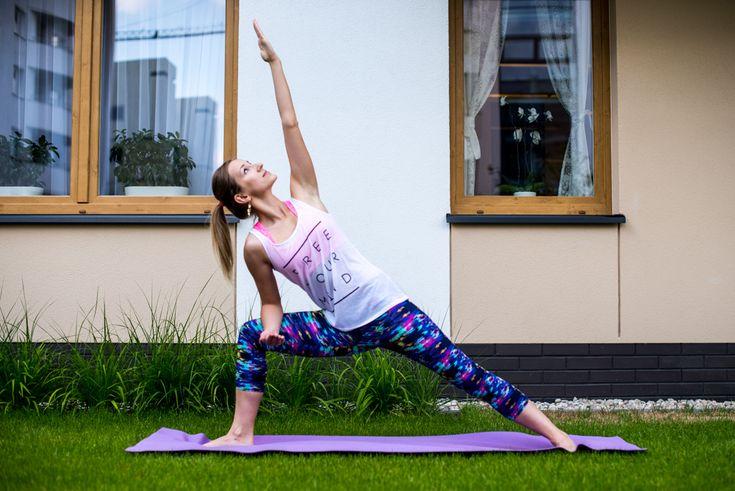 Ćwicz jogę w domu