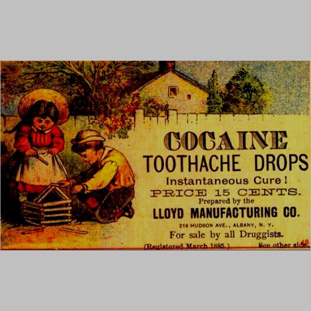 #vintage #ad, no need for drug dealers back then.