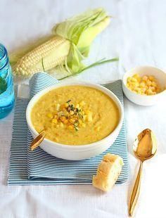 Как приготовить кукурузный суп чаудер?