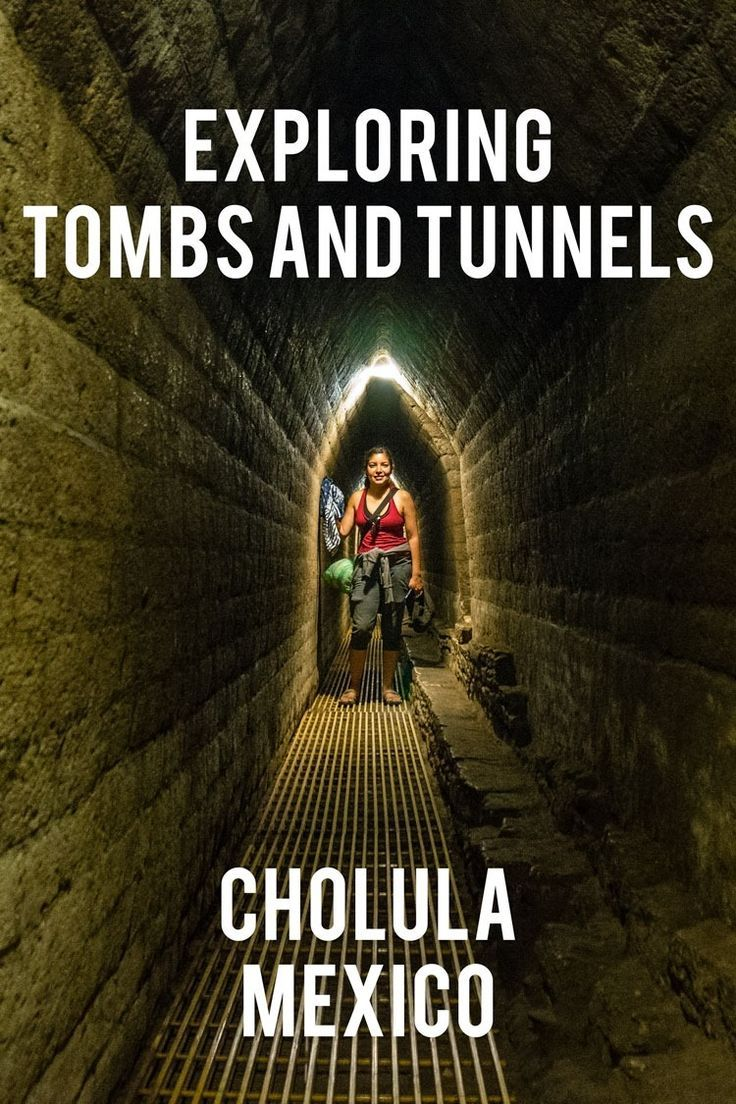 Have you ever wanted to play Indiana Jones? In Cholula, Mexico you'll find a massive pyramid with runnels and tombs to explore... http://www.desktodirtbag.com/pyramid-cholula-mexico/