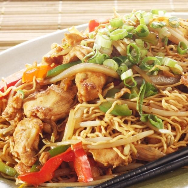Easy Chicken Chow Mein Recipe from Grandmother's Kitchen