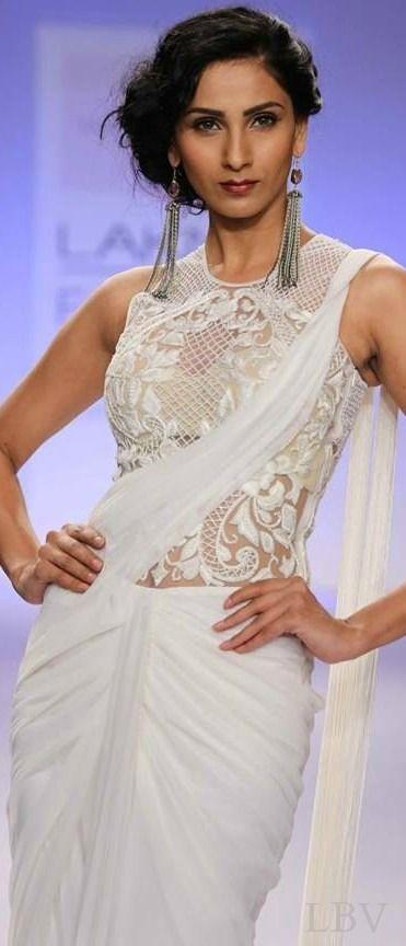 Lakme Resort - Summer 2014 #saree #sari #blouse #indian #hp #outfit #shaadi #bridal #fashion #style #desi #designer #wedding #gorgeous #beautiful