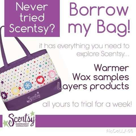 Borrow my bag! Independent Scentsy Consultant. Scentsy Australia. Try before you buy. Buy Host Join. www.leesadavis.scentsy.com.au