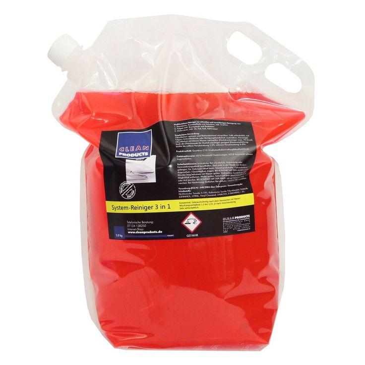CLEANPRODUCTS Fahrzeug-Außen-Reiniger 3 in 1 (Konzentrat) - 5,0 kg   Das moderne Autoshampoo: Shampoo, Insektenentferner / Insektenreiniger, Felgenreiniger und Motorraumreiniger in einem Produkt. 3 in 1 System-Reinigungsmittel für die Fahrzeugreinigung und Fahrzeugpflege. Ideal für die Autoaufbereitung bzw. Fahrzeugaufbereitung.