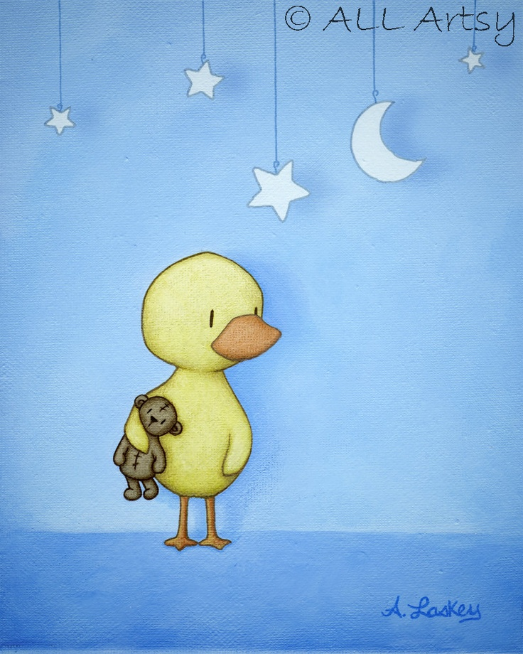 Staging The Stars matted 8x10 nursery art print by ALLArtsy, $26.00