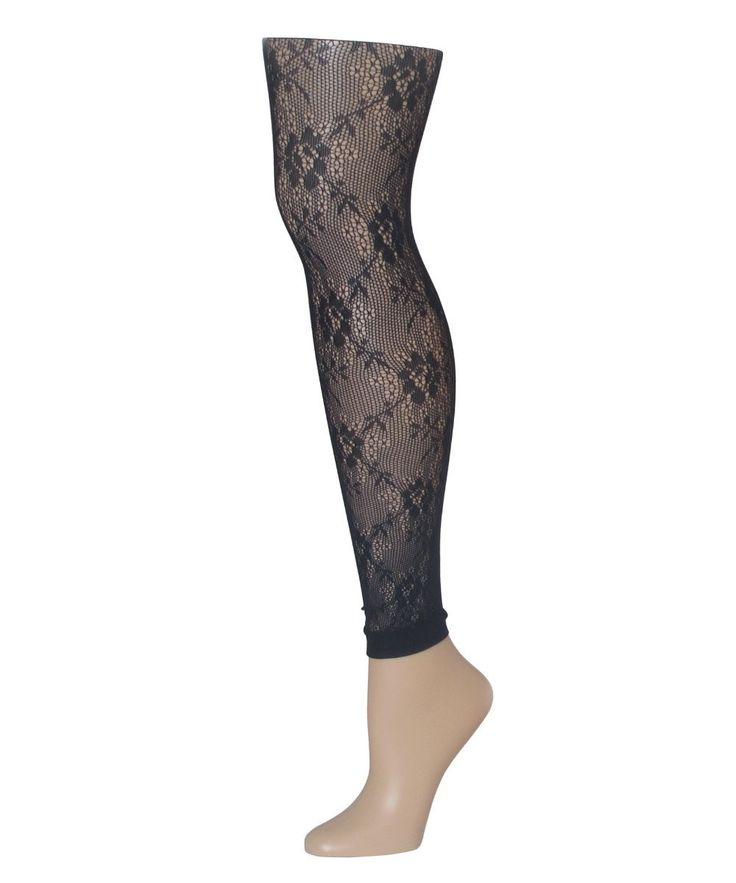 Romantic Lace Footless Tights