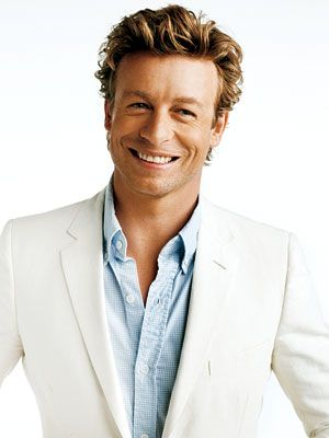 It took me a while to warm up to him in The Mentalist, but that smile made it easier.: Eye Candy, Simon Baker, Style, The Mentalist, Celebrities, Actor, Smile, People, Guys