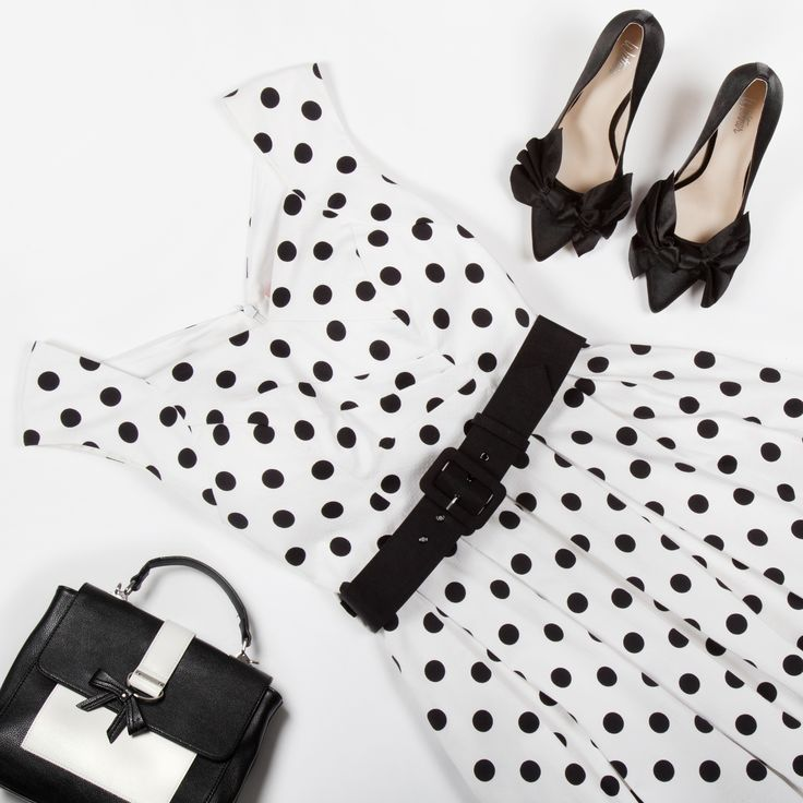 Hattie Spot Dress | Polka Dots | Flatlay | Review Australia