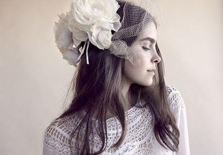 Large flowers in hair LOVE