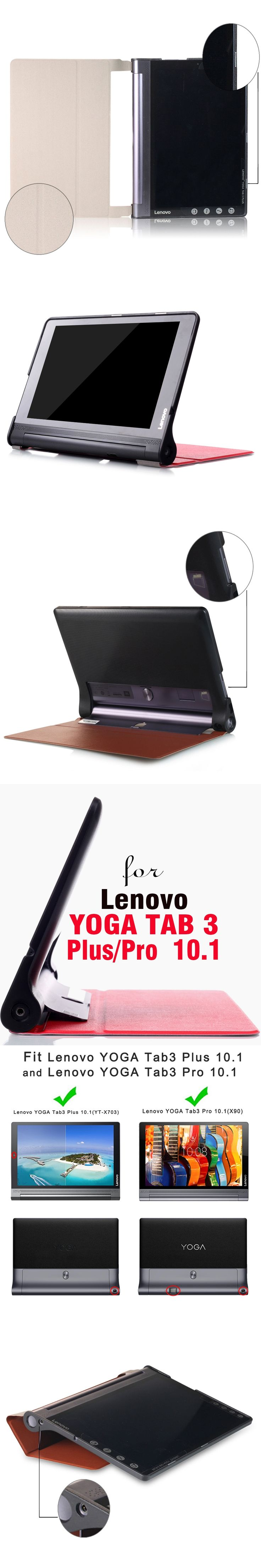 Cover Case for Lenovo Yoga Tab 3 Plus YT X703 and Pro X90 X90F X90M