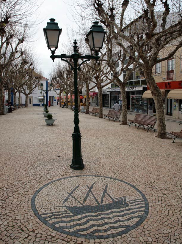 Ericeira Town Square - Travel in Portugal Photos
