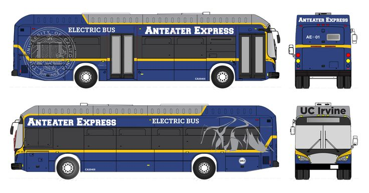 University Of California Irvine Goes Electric With 20 BYD Buses