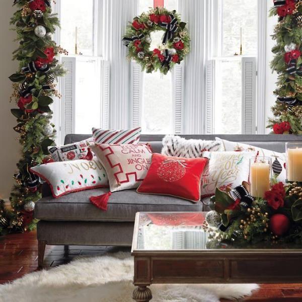 10 Interiores de casas adornadas de navidad