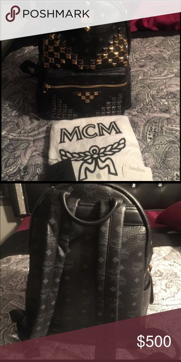 MCM BOOKBAG Wore Once Only Once MCM Bags Backpacks