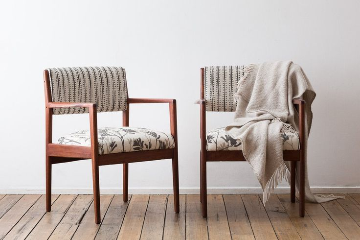 Mid-century carver chairs