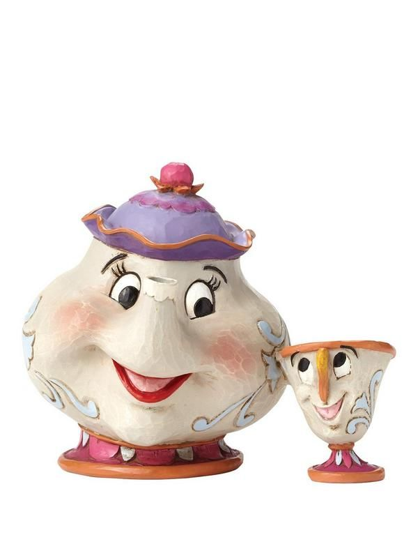 Disney Traditions Beauty & The Beast – A Mother's Love Mrs Potts & Chip | very.co.uk