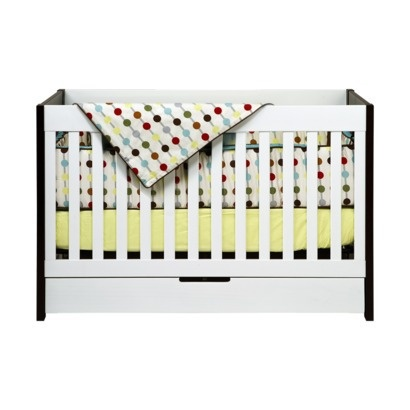 Two Tone Crib View Full Size Babyletto Hudson 3 In 1
