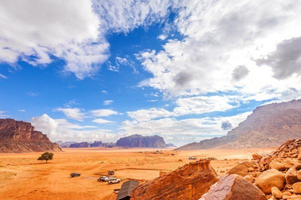 Wadi Rum a jeho púštne dobrodružstvo