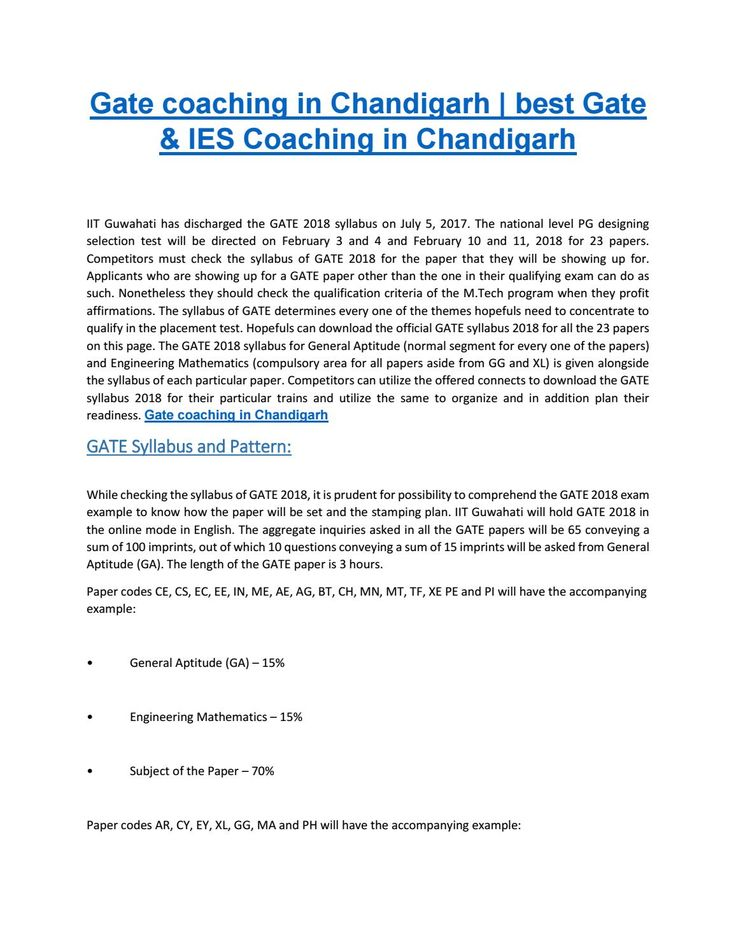 GATE Coaching in Chandigarh | Best gate Institute in Chandigarh Engineers Career Group is the best GATE Coaching in Chandigarh and also the best IES Coaching Institute in Chandigarh. We are an elite in Gate coaching and IES Coaching in Chandigarh, Tricity, Himachal Pradesh and Punjab Region. http://www.engineerscareergroup.in/