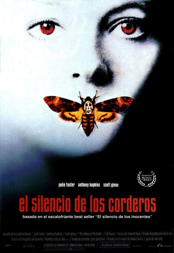 El silencio de los corderos (1991) EEUU. Dir: Jonathan Demme. Suspense. Películas de culto - DVD CINE 167