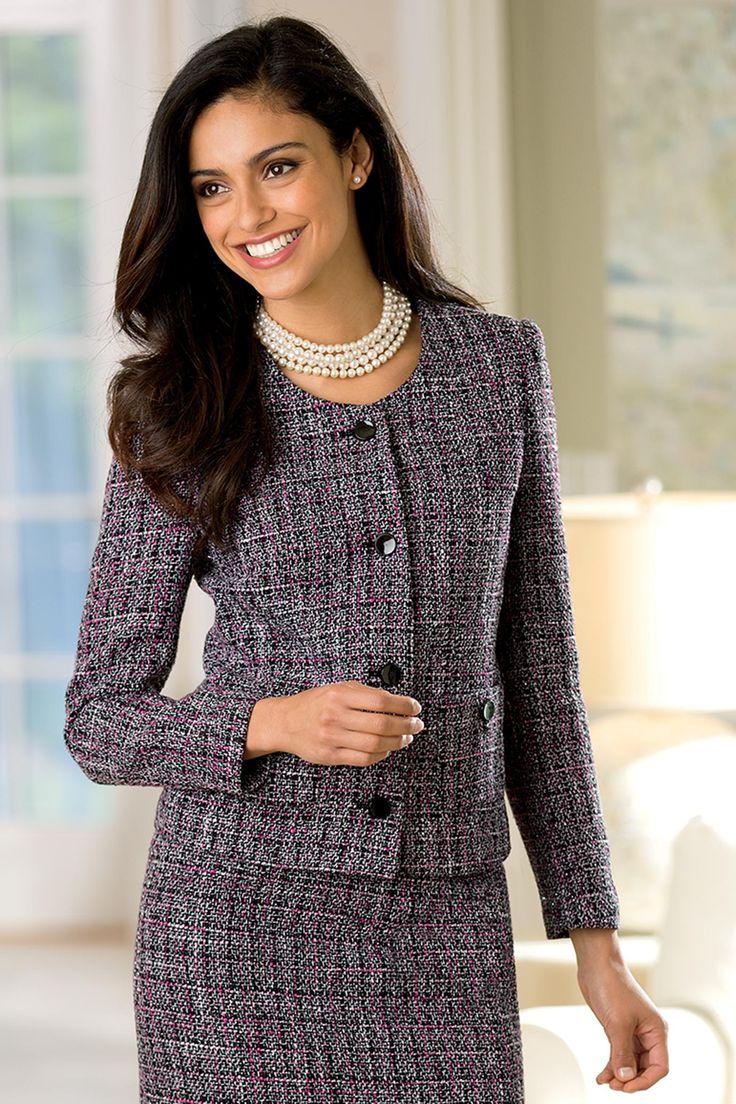 Shimmering Tweed Jacket Misses Chadwicks Dog Show