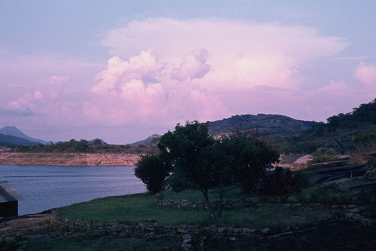 Lake Kyle in Zimbabwe 1982...those colours were real...no photo editing...