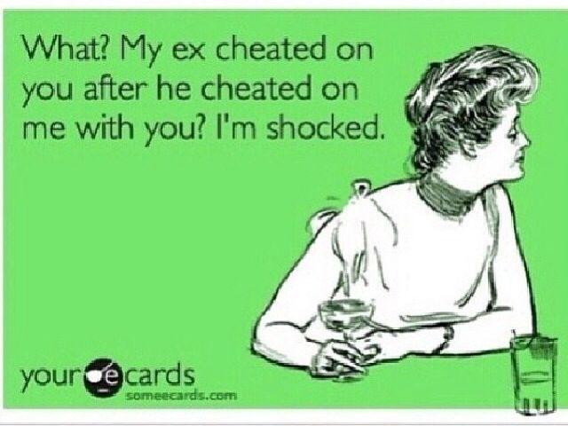 My ex cheated on me