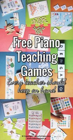 Do you use all of these piano teaching games? What would you add to the list? http://colourfulkeys.ie/essential-free-piano-teaching-games/