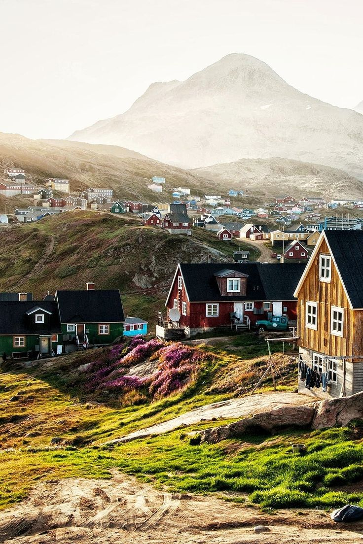 Tasiilaq, Greenland. + 18 Other Truly Charming Places In The World. Please like http://www.facebook.com/RagDollMagazine and follow @RagDollMagBlog @priscillacita