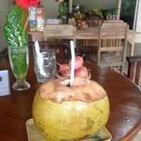 #Fresh Young #Coconut from Wayan's Coconut #Juice Bar - #juicing #juicebar #coconutwater #coconutmeat #baliraw