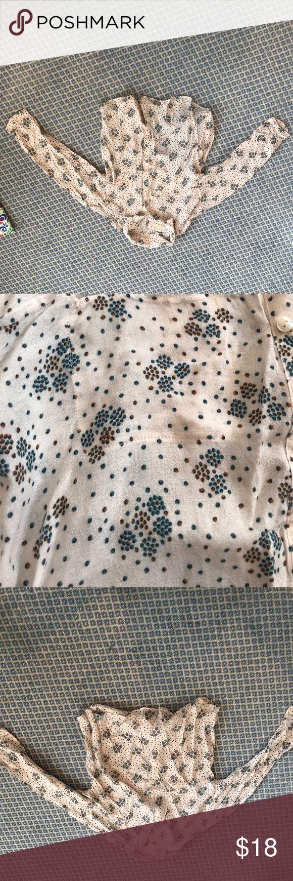 Selling this Size 9-10 Zara girls blouse on Poshmark! My username is: greenwichstyle. #shopmycloset #poshmark #fashion #shopping #style #forsale #Other