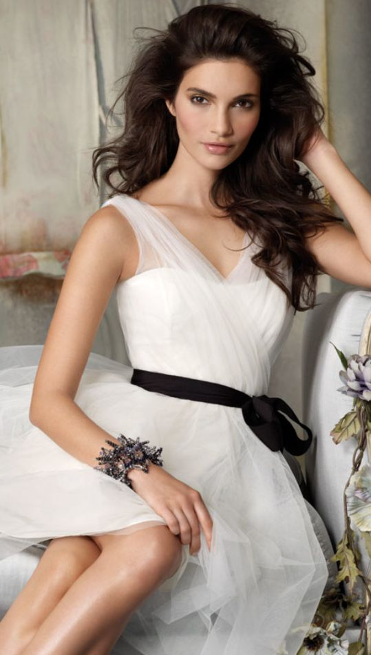 beautiful at the shoulders- white dress