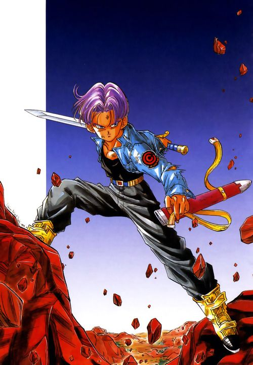 Trunks | @ComicMangaEnt,always had a thing for trunks ^_^ <3