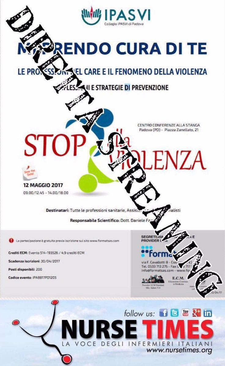 """Seguici su nursetimes.org - Giornale di informazione sanitaria -  12 maggio Ipasvi Padova """"Stop alla… #ECM_FAD_Free_ECM #NurseTimes"""