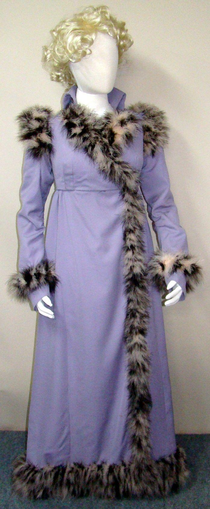 Regency fashion plate the secret dreamworld of a jane austen fan - Redingote Purple Wool With Feather Trim Riding Habitregency Erabetter Lifefashion Platesphoto