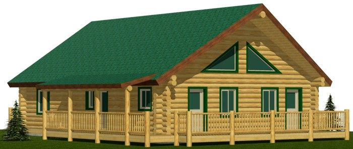 Eagle River cheap log cabin kits prices