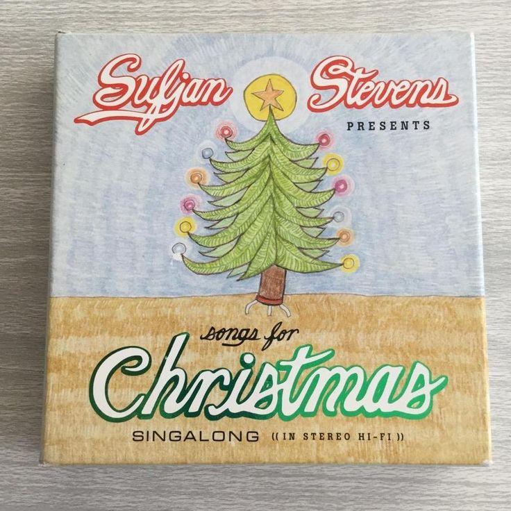 Sufjan Stevens Songs for Christmas Holiday CD Box Set #Christmas