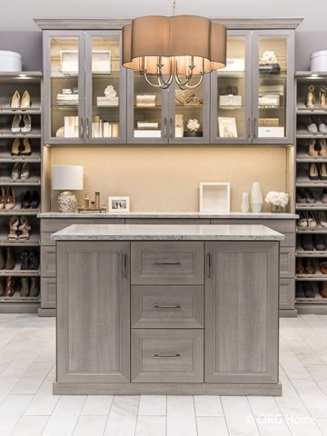 Create a gallery of your favorite things, all showcased in cabinets with glass d…  – most beautiful shelves