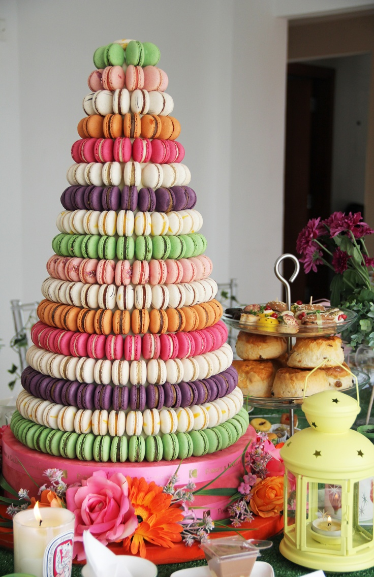 macaroons <3  @Mallika Doss- I'll try to recreate this for one of your big life events :))