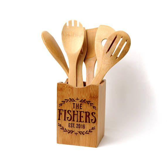 25 best ideas about kitchen utensil holder on pinterest kitchen utensil organization utensil - Unique kitchen utensil holder ...