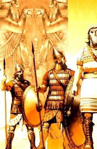 The ancient Armenian kingdom of Urartu (Ararat kingdom)