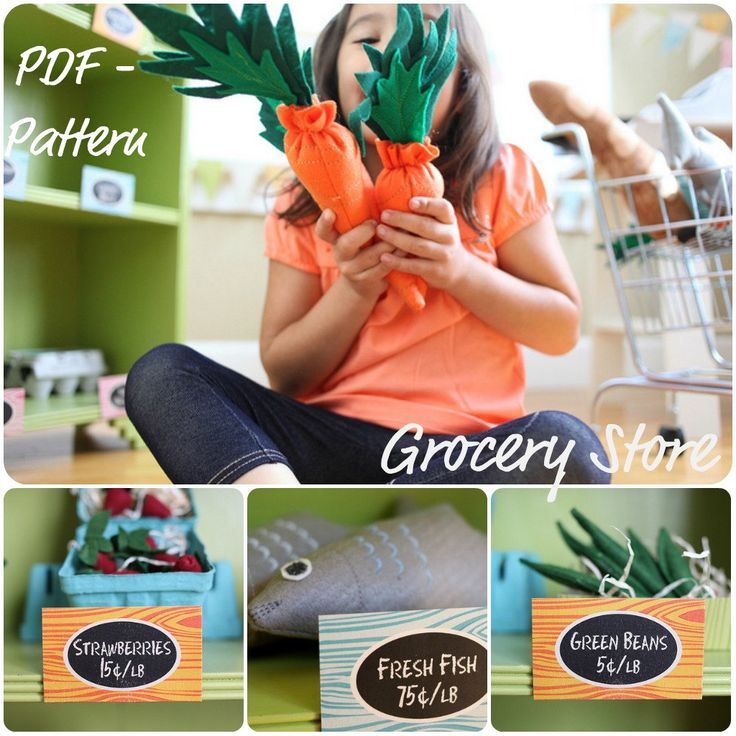 $11 etsy pattern - totally worth it for such cute carrots & stuff!