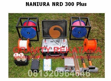 Gambar Alat Geolistrik NRD 300 PLUS