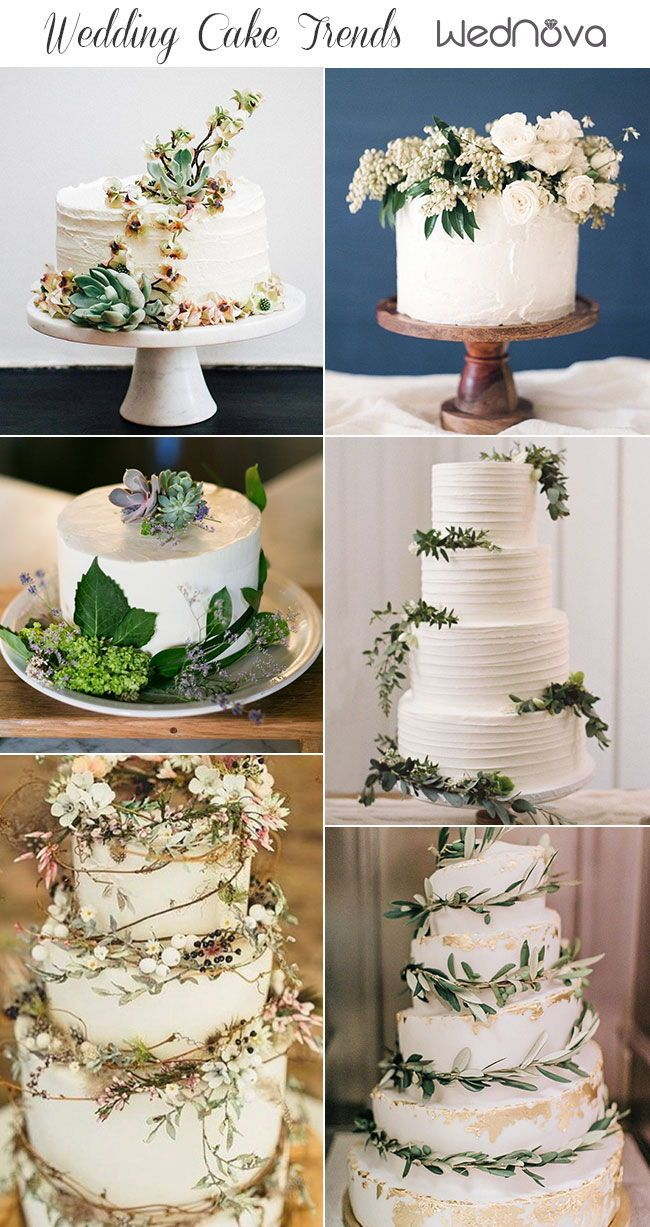 2019 Wedding Cake Trends to Inspire Your Big Day Big