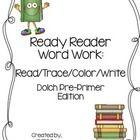 sight words/word work